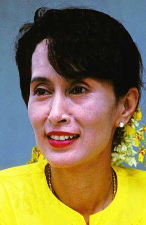 2013年6月,昂山素季在世界经济论坛会议上明确宣布竞选缅甸总统.