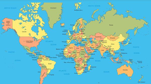 世界地图里存在的那些大骗局