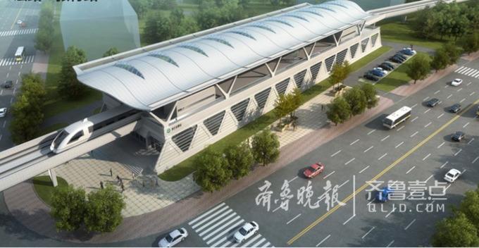 青岛地铁11号线高清美图来了 国内最快