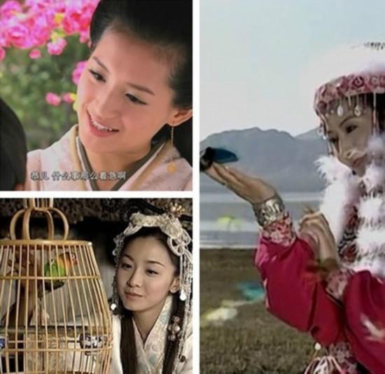 赵丽颖PK唐嫣 同一场景下古装照美丑差异大图片