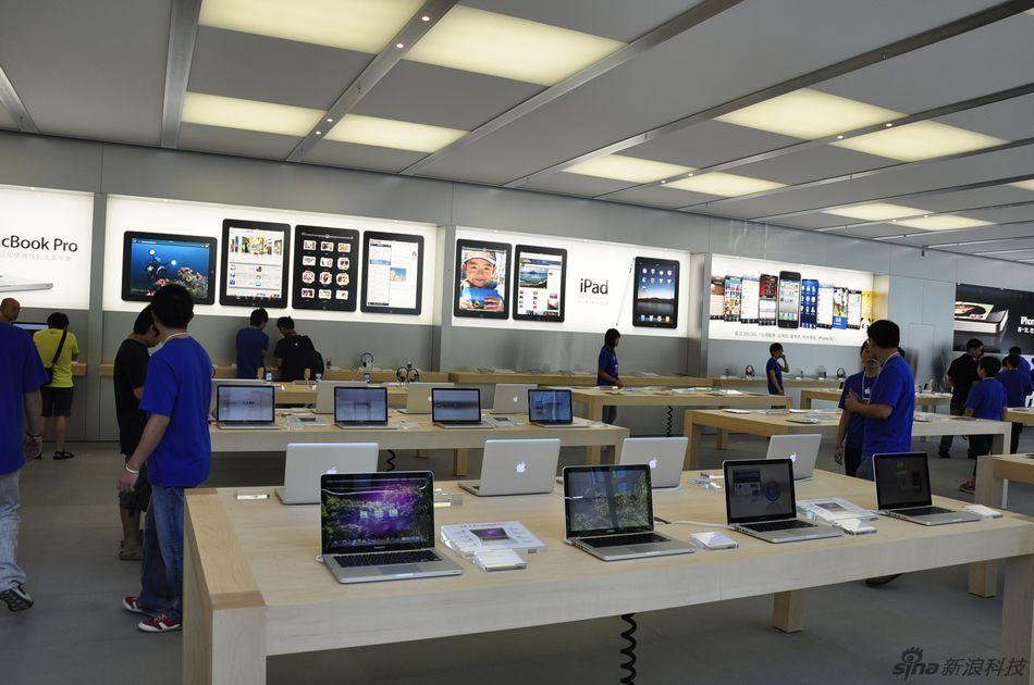 苹果Apple Store香港广场店预览
