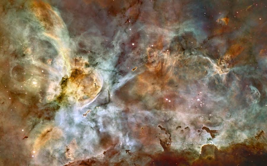 难以置信 哈勃空间望远镜摄影壁纸赏