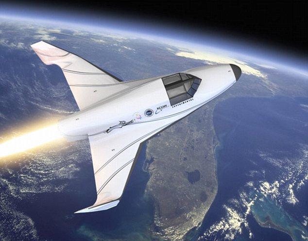 美国超音速飞机时速4000公里:90分钟纽约飞东京(图)