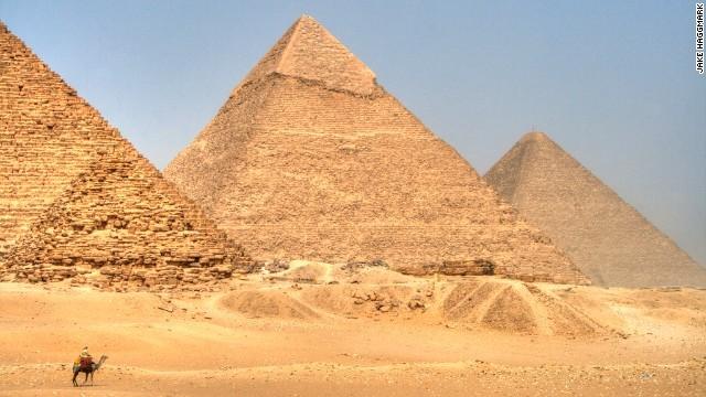 世界遗产埃及金字塔的里面图片