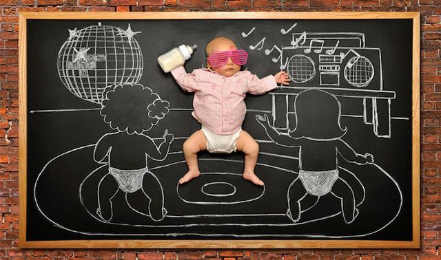 摄影 用黑板和粉笔画出拍摄场景