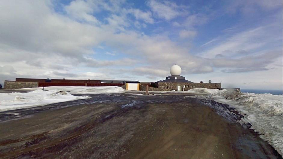 挪威,欧洲最北端的游客中心-谷歌地图的虚拟环球之旅 走到路的尽头
