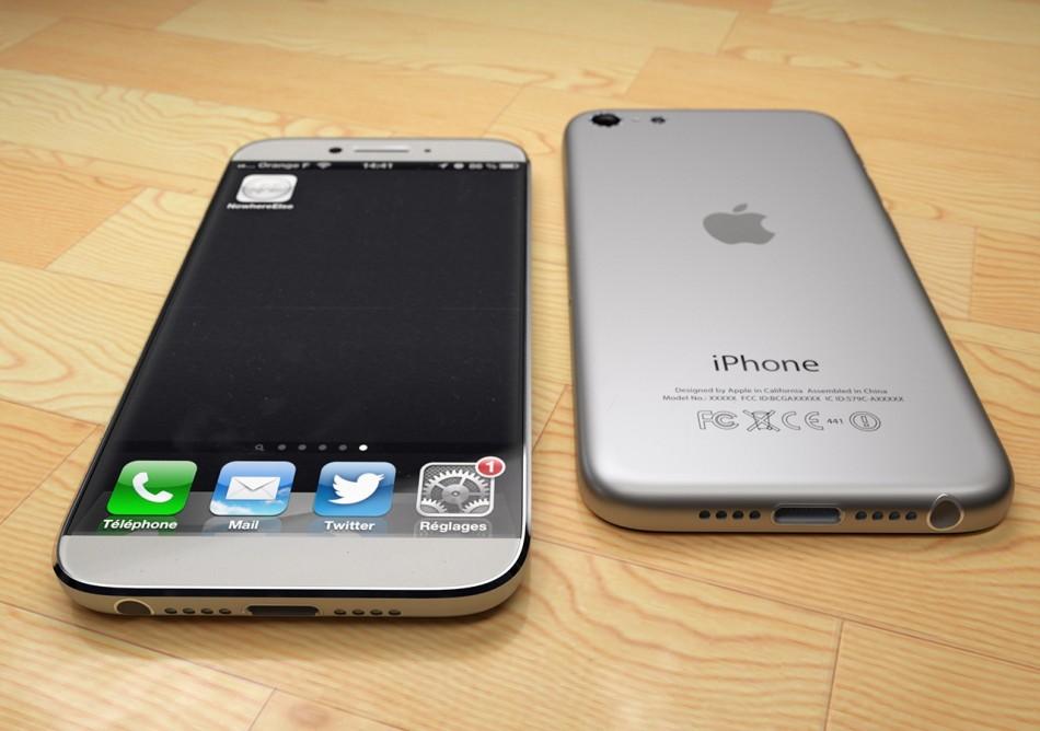 iphone 6惊艳概念机:无边框设计 极致纤薄