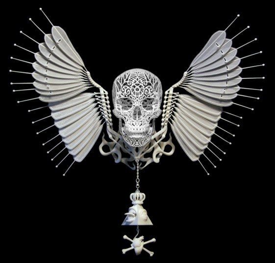 英国伦敦3D打印艺术展