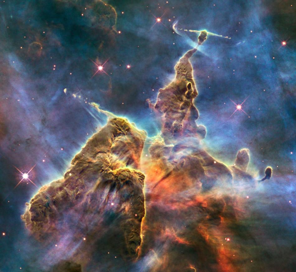 地球之外的美丽:NASA分享绝美宇宙景象