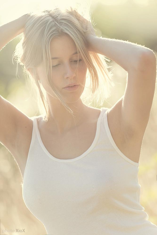 摄影师作品 美人如玉的人像摄影图片