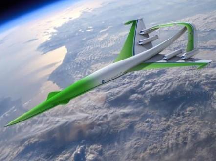 十款有望成真的未来飞机设计:翼身融合飞机