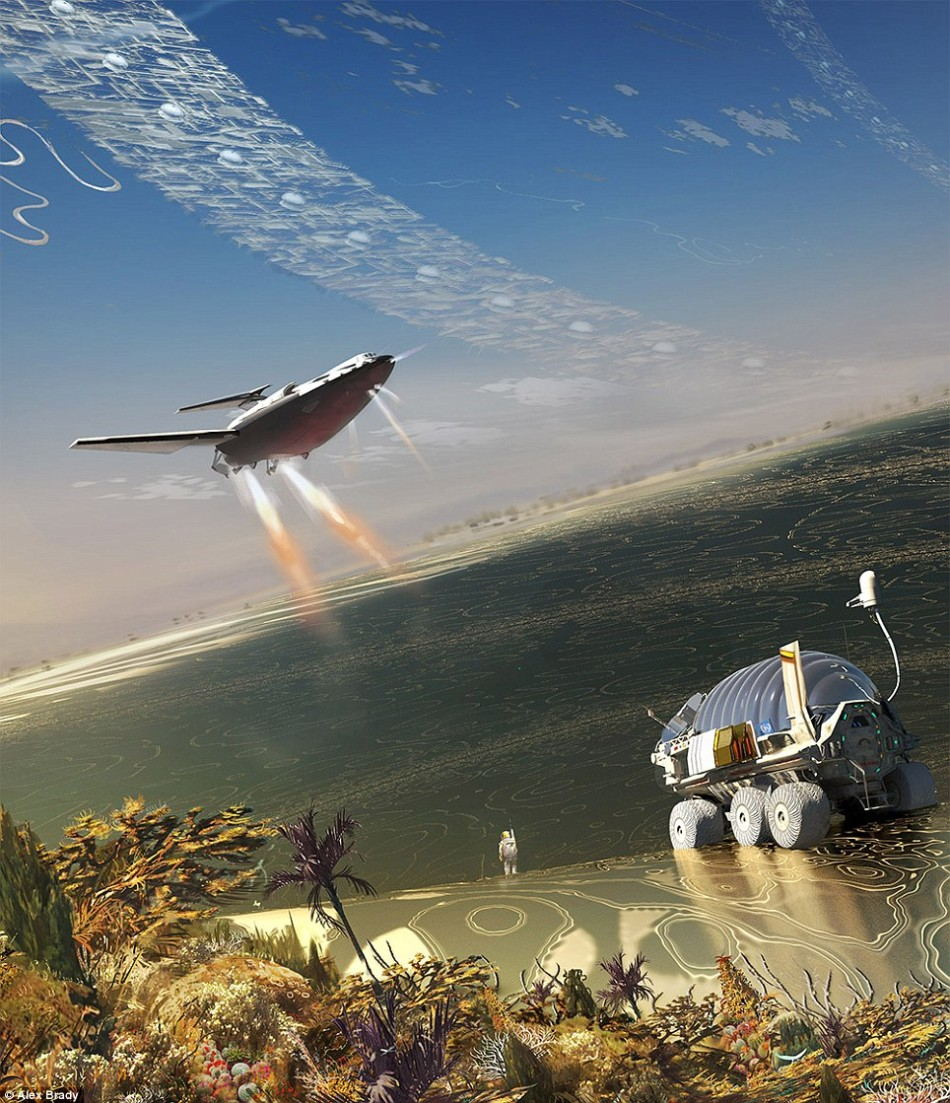 以动物为灵感设计的概念飞机:翼龙外形战斗机