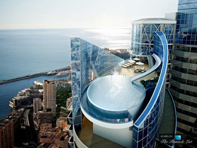 世界最贵公寓图片曝光:平台配泳池自带水滑梯