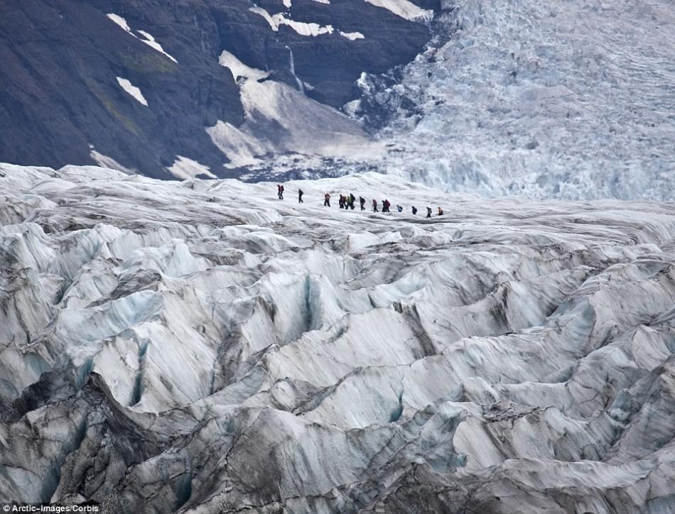 探访地球八大地貌奇观:冰川地形似外星世界