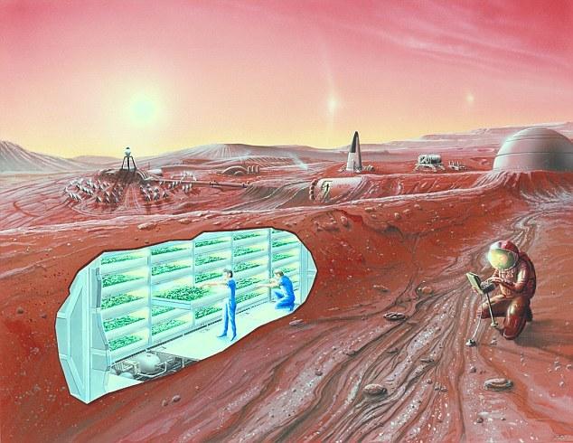 NASA新技术:利用细菌和藻类火星造氧气