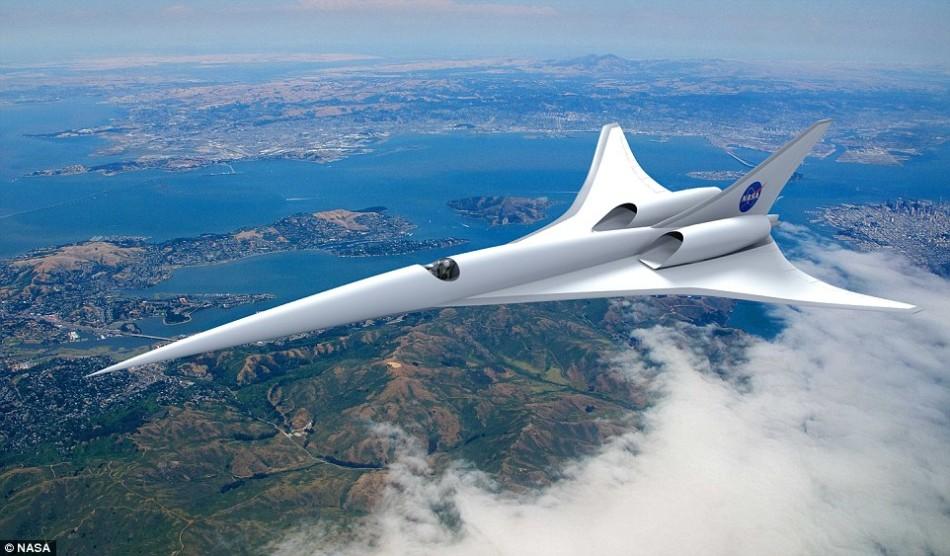 美宇航局投资打造新一代超音速飞机:减少噪声