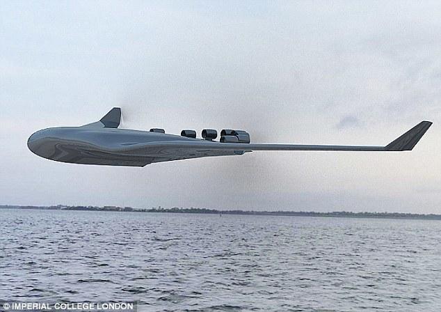 民航未来:混合翼水上飞机无需机场可运2000乘客