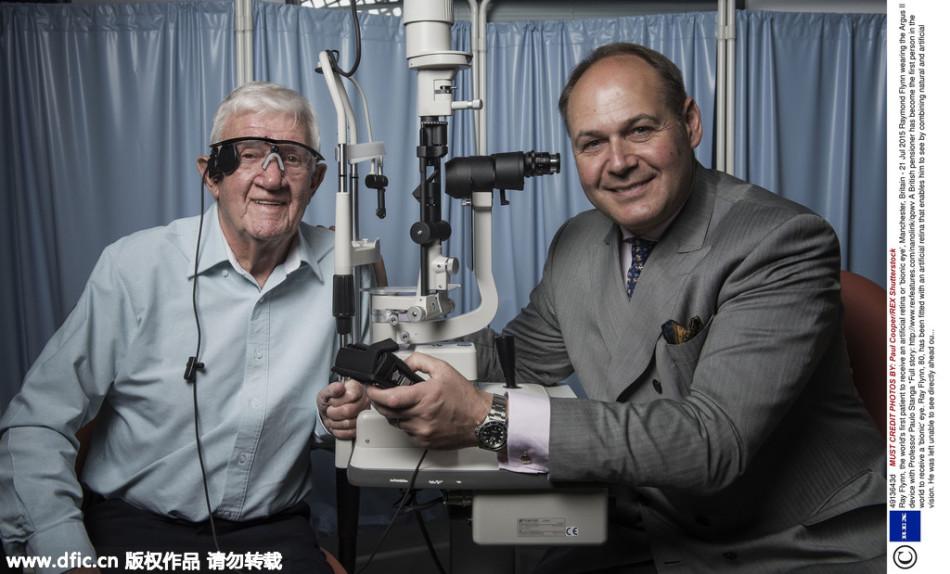 首例人工仿生机器眼移植成功:闭眼也能看世界