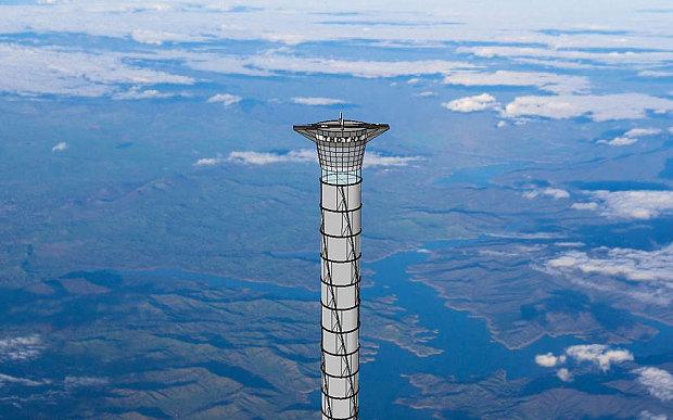 科学家发明可充气太空电梯:高度可达20千米