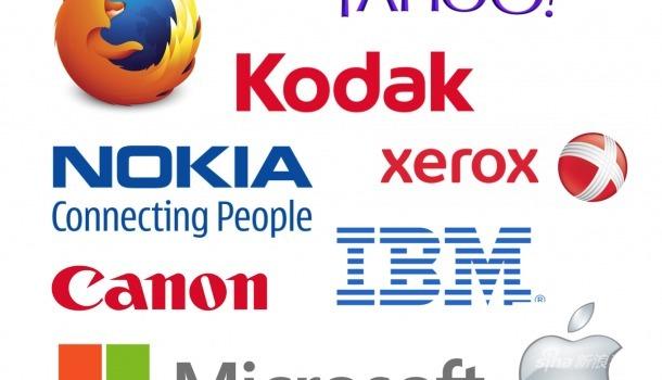 科技公司的图标演化史