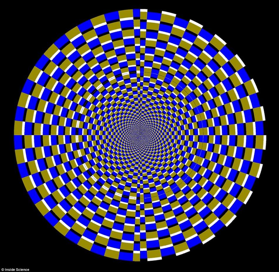 眼睛看到的错觉:简单视觉假象骗过我们的大脑