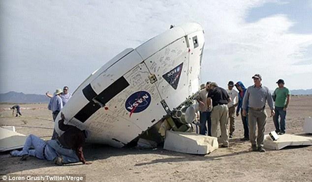 美国宇航局成功完成猎户座飞船降落伞系统测试