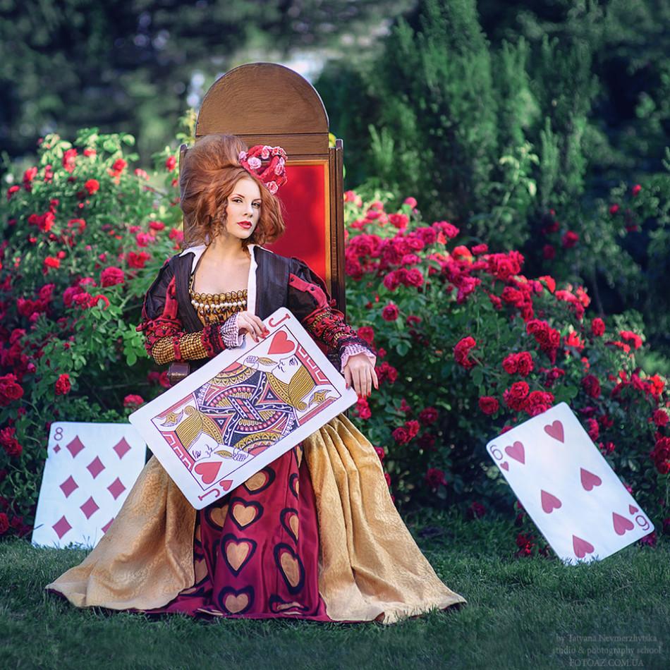 乌克兰女摄影师kiev tatyana nevmerzhytska,她主要拍摄艺术类和童话图片