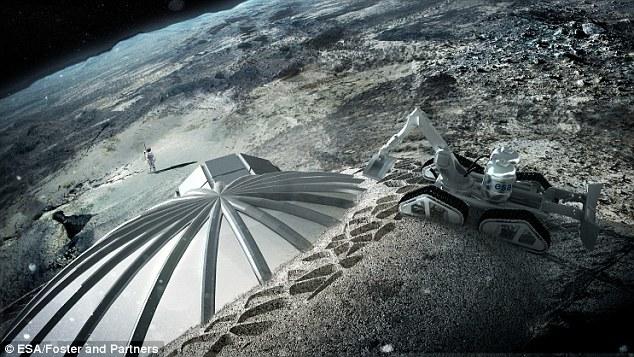 2030年建成月球基地 欧空局欲3D打印 月球村