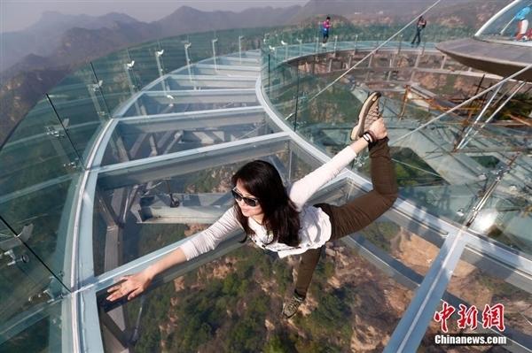 上去直接吓瘫?北京建世界上最大悬空观景台
