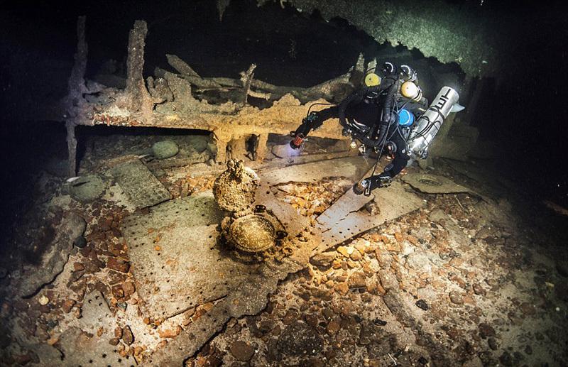 水下探索100年前基奇纳伯爵遇难沉船