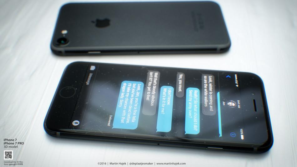 设计师打造iPhone 7渲染图