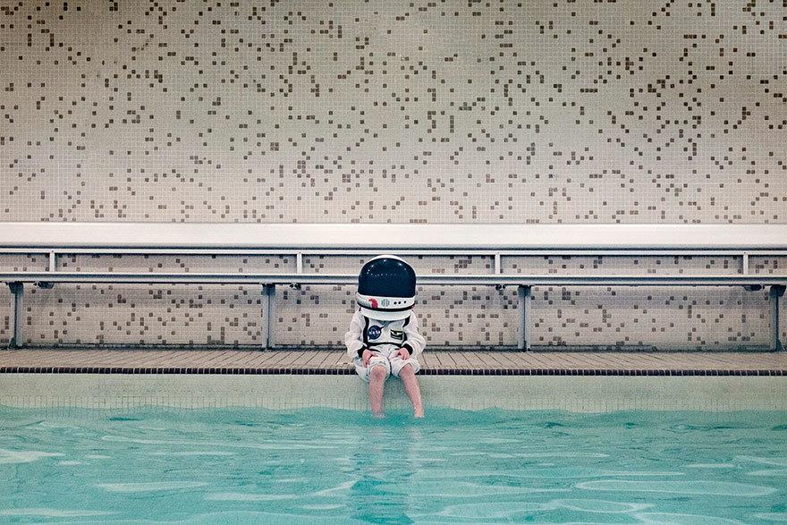 一小步是巨大的飞跃 小宇航员的城市生活