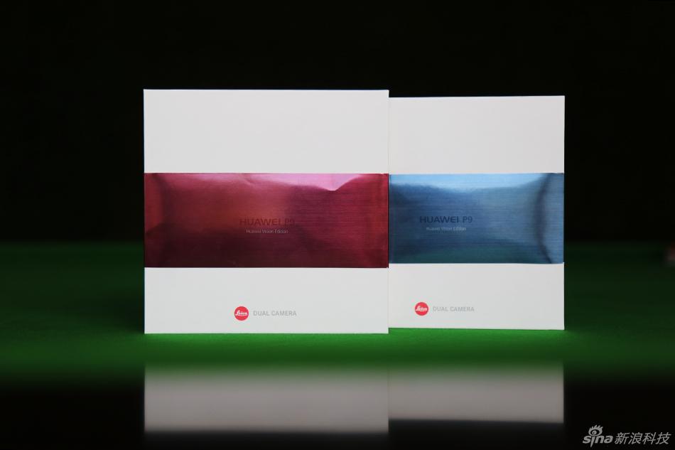 一半冰山一半火 华为P9新配色托帕蓝和玛瑙红