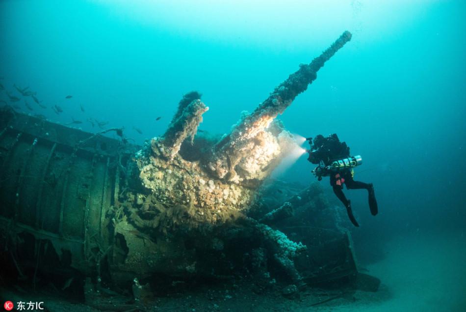 探秘大西洋深海海难船:被遗忘的神秘世界