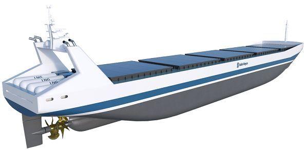 无人巨型货运船预测2020年商用:似浮出海面鲸鱼