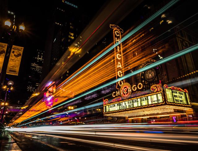 15张以城市夜景为主题的摄影作品图片