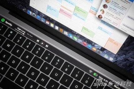 OLED触控条有啥用?新MacBook Pro渲染图抢先看