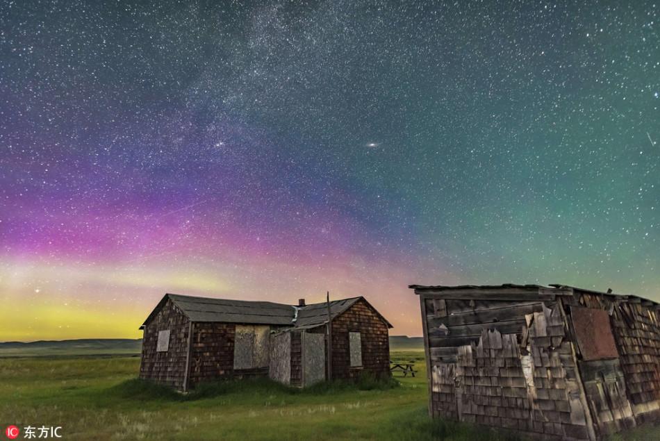 最美的星空夜景:浩瀚宇宙天文奇观美到震撼
