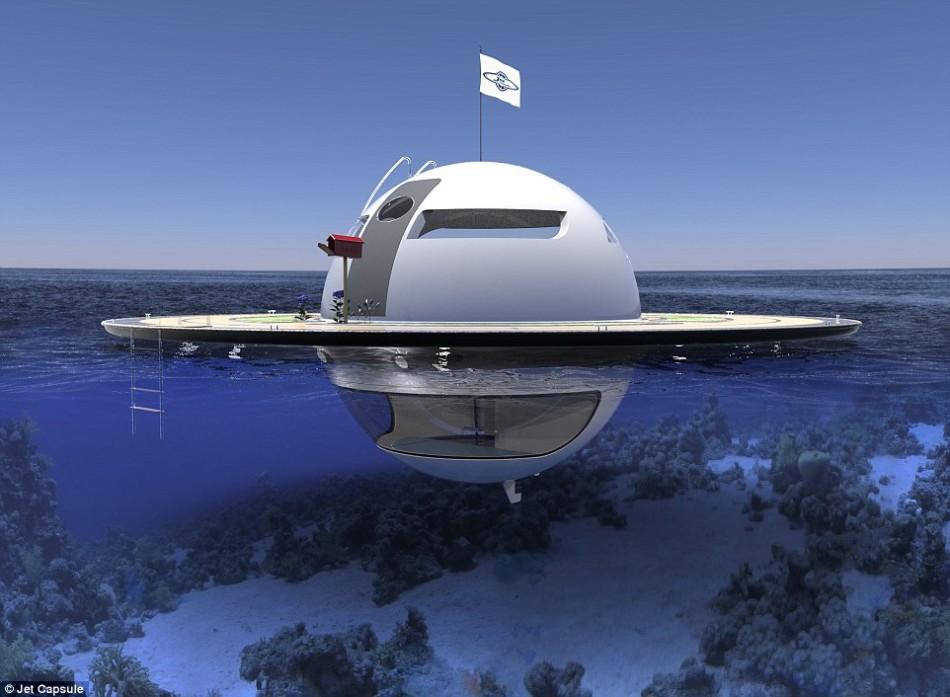 ufo双层游艇