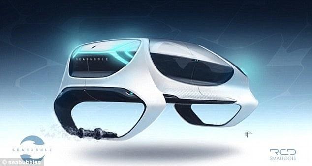 """""""打飞的""""不是幻想:太阳能穿梭机水面上飞行"""