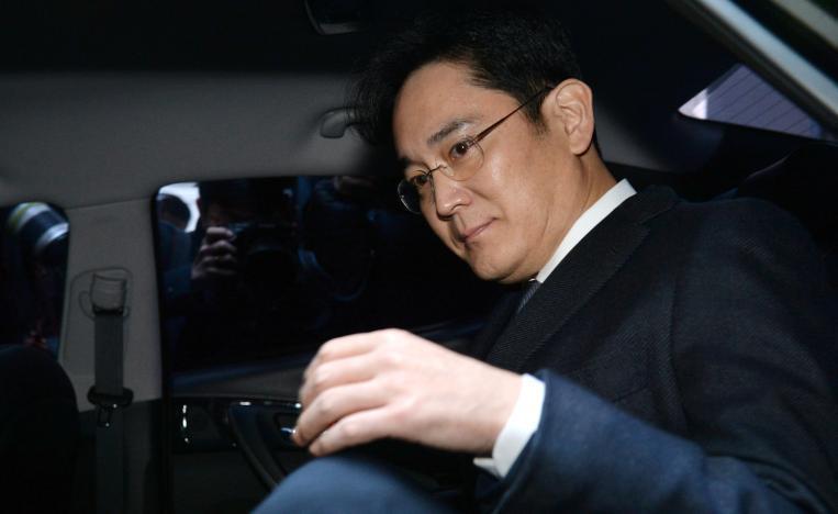 三星集团掌门人李在镕前往首尔中央地方法院