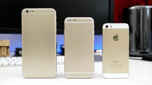 7寸iphone 6机模之后,国外一些网友又弄到了5.