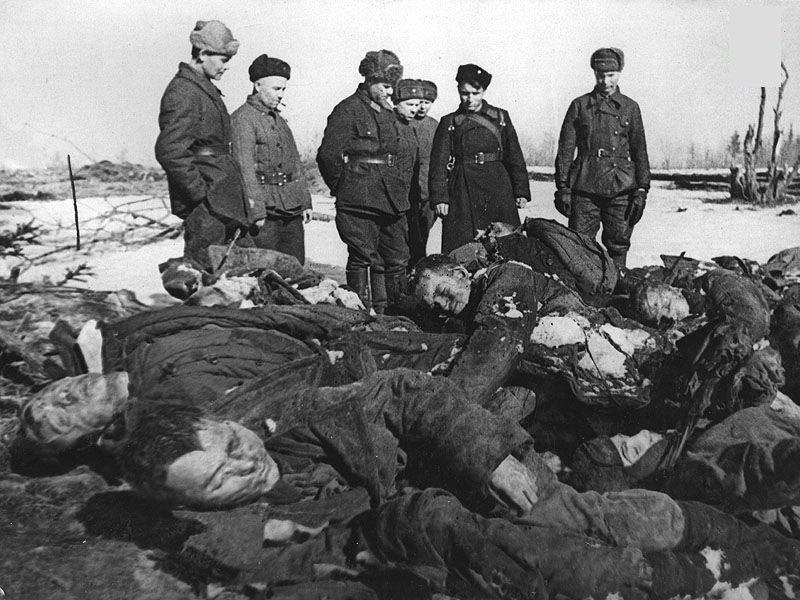二战东线战场:凶残的纳粹