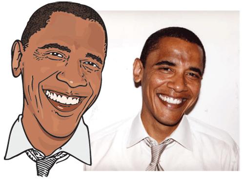 趣味组图 各国领导人卡通形象
