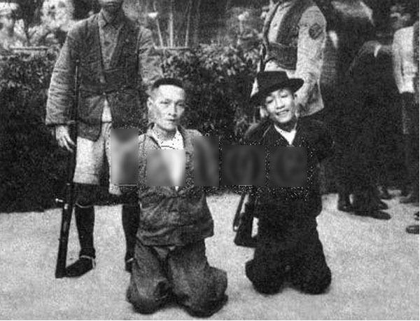 老照片:新中国初期的镇压反革命运动_品质生活