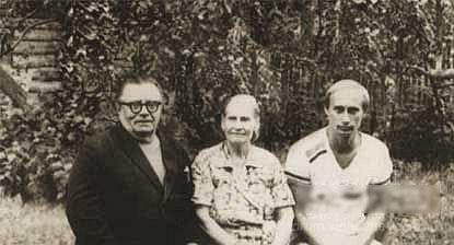 普京和父母