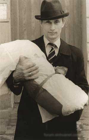 普京年轻时照片