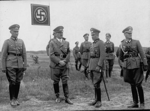 1940 德国 柏林-纳粹帝国元首希特勒的罕见老照片