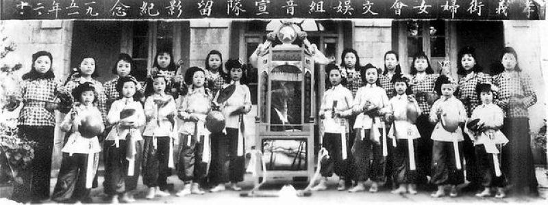 毛泽东时代的女性风采照