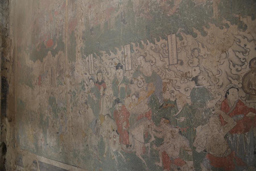 古建筑墙绘小方木-最后的山西乡村古建壁画
